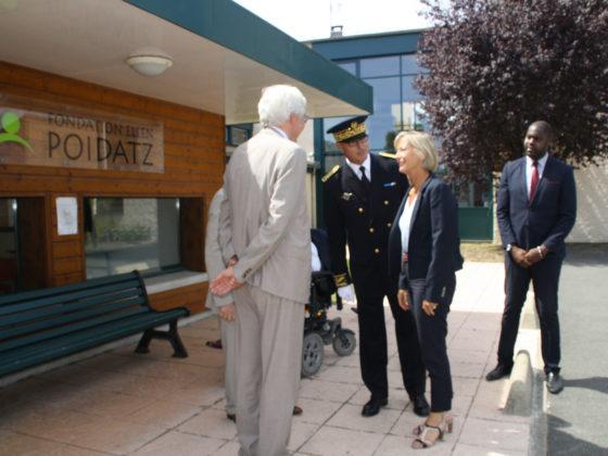 Visite de la Secrétaire d'Etat chargée des personnes handicapées